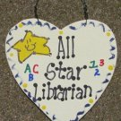 Teacher Gifts 5013 All Star Librarian Handmade