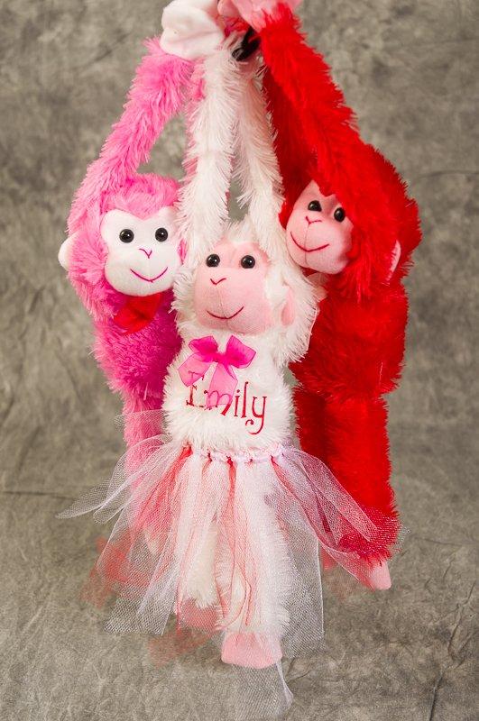 Valentine's Day Plush Personalized Love Monkeys