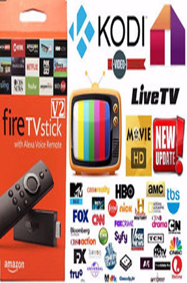 AMAZON FIRE TV STICK JAILBROKEN Kodi 17.3 Mobdro MOVIES PPV, SPORTS FULLY LOADED