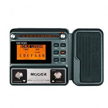 MOOER GE100 Guitar Multi-Effects Processor Large high brightness LCD display pedal Effect pedal