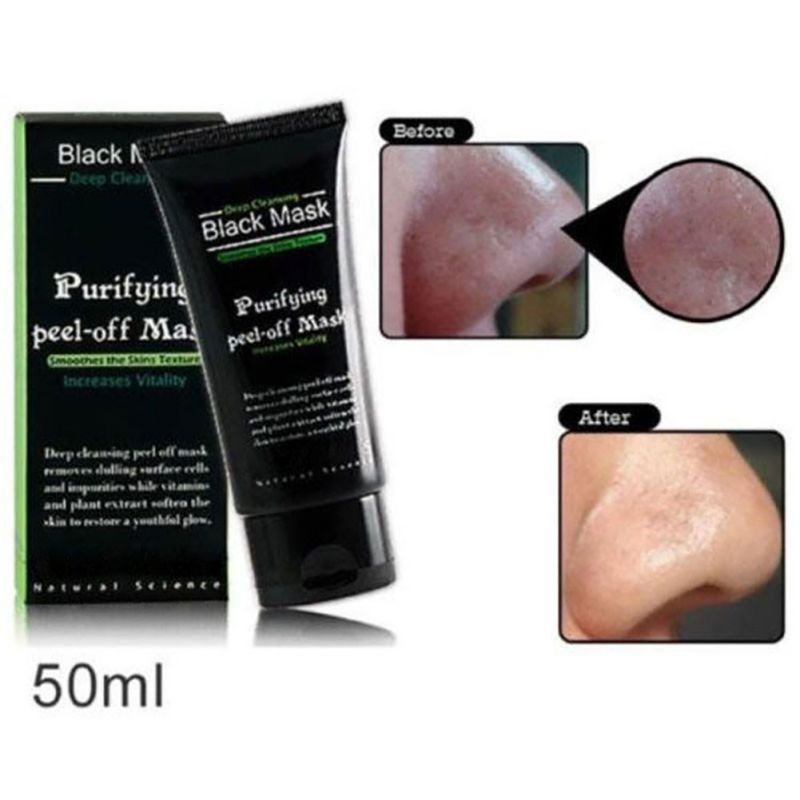 Black Mask Deep Cleansing Face Mask Black Head Tearing Style Resist Strawberry Nose