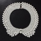17KM Handmade simulated Pearl collar necklace choker necklace jewelry