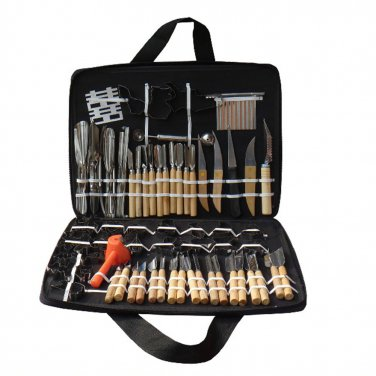 80Pcs Vegetable Fruit Carving Chisel Stainless steel Shipping Tools Kit With Bag For Practice