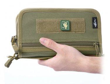 Portable Waterproof Mobile Phone Card Lighter Handbag Military Nylon Tactical Bag