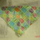 Dog Bandana for Easter  Size Small   Eggs