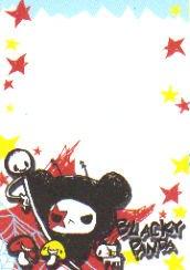 Blacky Panda Mini Memo 2