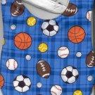 Handmade Sports Baby Bib Baseball Basketball Football