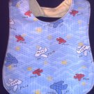 New Handmade Airplanes Planes Baby Bib