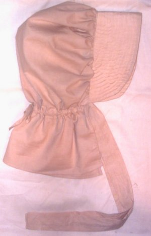 Womens Tea Stained Dyed Pioneer Bonnet Prairie