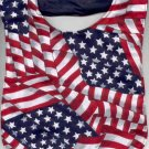 Patriotic Red White Blue Baby Bib American Flag Print