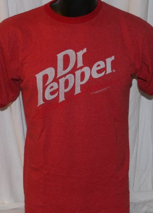 Dr. Pepper Classic Logo T Shirt Medium