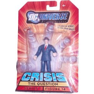The Question DC Universe Series 1 Infinite Heroes Crisis Tall Action Figure #14