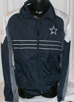 Dallas Cowboys NFL Sports Illustrated Windbreaker Large