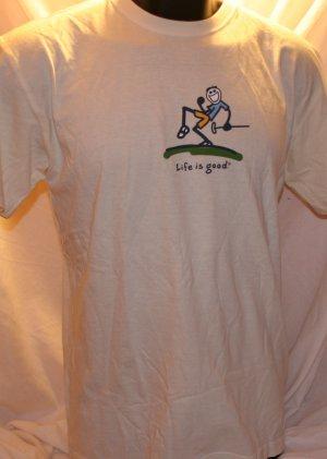 Life is Good Golf Putting Medium T Shirt