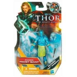 INVASION FROST GIANT Thor the Mighty Avenger MOVIE 3 3/4 Figure #6