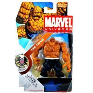 THING #019 Marvel Universe 3 3/4 Dark Pants VARIANT Action Figure