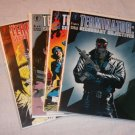 TERMINATOR SECONDARY OBJECTIVES FULL Complete SET 1-4 1991 VF+ B&B Gulacy
