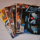 LOBO 1st COMPLETE MINISERIES 1-4+ 1990 VF+ Bagged & Boarded LEGION '91 Bisley