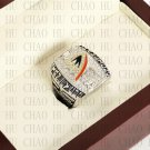 Team Logo wooden Case 2007 Anaheim Mighty Ducks  Hockey Stanely Cup Championship Ring 10-13 Size