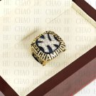Team Logo wooden Case 1996 New York Yankees world Series Championship Ring 10-13 size solid back
