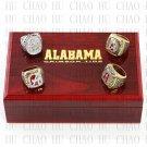 1992 2009 2011 2012 Alabama Crimson Tide NCAA Football National Championship Ring 10-13 size