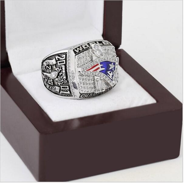 2001 New England Patriots NFL Super Bowl FOOTBALL Championship Ring 10-13 size
