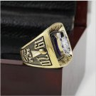 1970 Baltimore Colts NFL Super Bowl Championship Ring 10-13 size with cherry wooden case