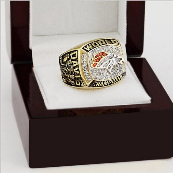 1997 Denver Broncos NFL Super Bowl FOOTBALL Championship Ring 10-13 size