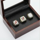 3 PCS 1995 2000 2003 New Jersey Devils NHL Hockey Stanely Cup Championship Ring 10-13 size