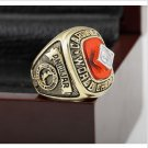 1982 ST LOUIS CARDINALS MLB world Series Championship Ring 10-13 size with cherry wooden case as