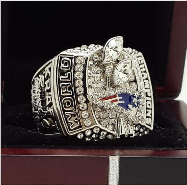 2003 New England Patriots NFL Super bowl Championship Ring 11S Alloy Solid in stock