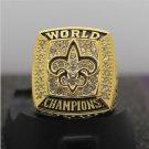 2009 New Orleans Saints Super Bowl FOOTBALL Championship Ring 7-15 Size