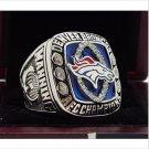 2013 Denver Broncos AFC FOOTBALL Championship Ring 7-15 Size COPPER SOLID Engraved Inside
