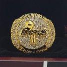 2009 Los Angeles Lakers National Bakstball Championship Ring 10 Size Kobe Name