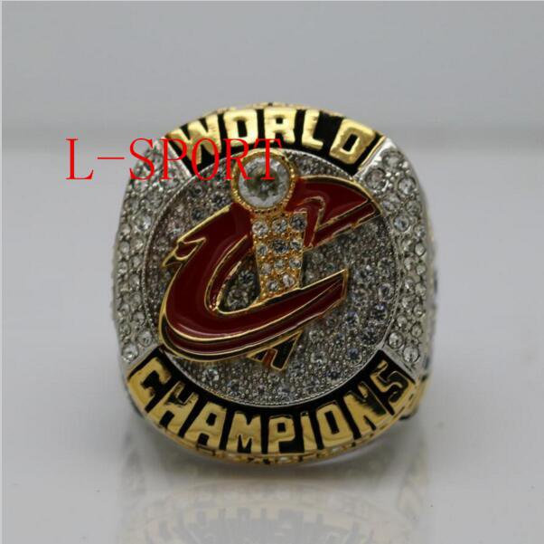 .2016 the Cleveland cavaliers basketball championship ring copper material size 8 to 14 VIP James