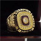 1988 Los Angeles Lakers Basketball world championship ring 8-14S copper solid back ingraved inside