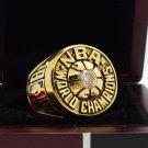 1980 Los Angeles Lakers Basketball world championship ring 8-14S copper solid back ingraved inside