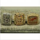 One Set 3 PCS 2013 Florida State Seminoles FSU NCAA National Championship Ring 7-15 Size