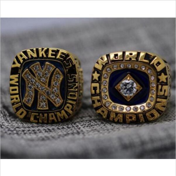 One Set 2 PCS 1977 1978 New York Yankees MLB World Seires Championship Ring 7-15 Size