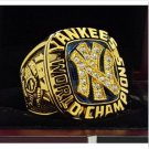 1977 New York Yankee MLB World Seires Championship Ring 7-15 Size Copper Solid Engraved Inside