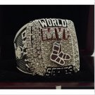 2013 Boston Red sox MLB world series championship ring MVP Ring 8-14S copper solid back