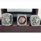 3 PCS 2010 2013 2015 Chicago Blackhawks NHL Hockey Stanely Cup Championship Ring 11S +BOX