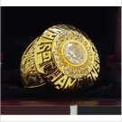 1985 Edmonton Oilers NHL Hockey Stanely Cup Championship Ring 7-15 Size Copper Engraved Inside