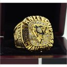 1991 Pittsburgh Penguins NHL Hockey Stanely Cup Championship Ring 7-15 Size