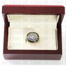 Team Logo wooden case 1985 Chicago Bears Super Bowl Championship Ring 10-13 size solid back