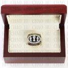 1988 San Francisco 49ers Super Bowl Championship Ring 10-13 size solid back Team Logo wooden case