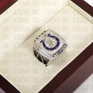 Team Logo wooden case 2006 Indianapolis Colts Super Bowl Championship Ring 10-13 size solid back