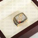 Team Logo wooden case 1991 Washington Redskins Super Bowl Championship Ring 10-13 size solid back
