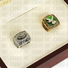2PCS Set 1980 2004 PHILADELPHIA EAGLES NFC Football world Championship Ring 10-13 size