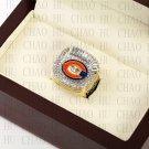 Team Logo wooden Case 2006 Chicago Bears NFC Football world Championship Ring 10-13 size